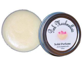 Pink Marshmallows Solid Perfume (.5oz)