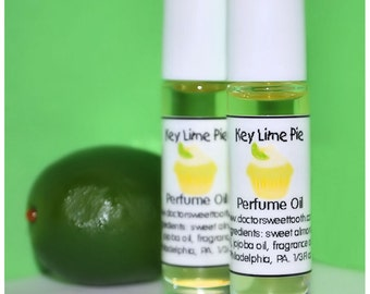 Key Lime Pie Perfume Oil Roll-On