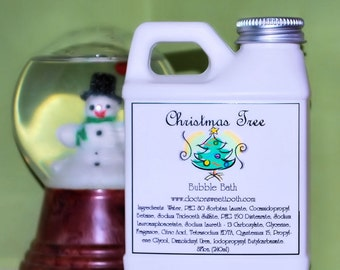 Christmas Tree Bubble Bath 8oz