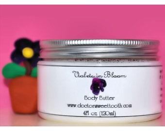 Violets in Bloom Body Butter 4oz