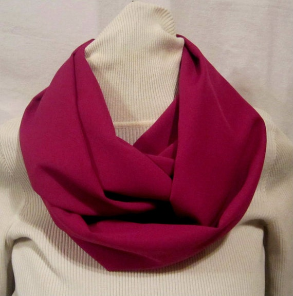 Lovely Spring Handmade  Infinity scarf, circle scarf, cowl scarf,  Womens Rose colored