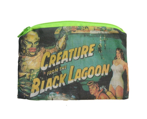 Creature from the Black Lagoon - Vintage Horror - Zipper Pouch