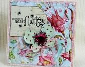 Heart a Flutter Handmade Card