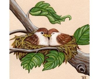 The Love Nest - Fine Art Print