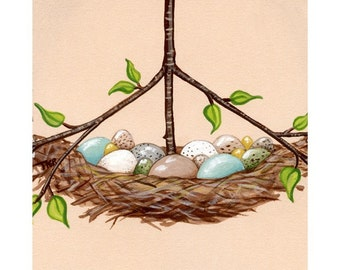 Nest Eggs Note Card