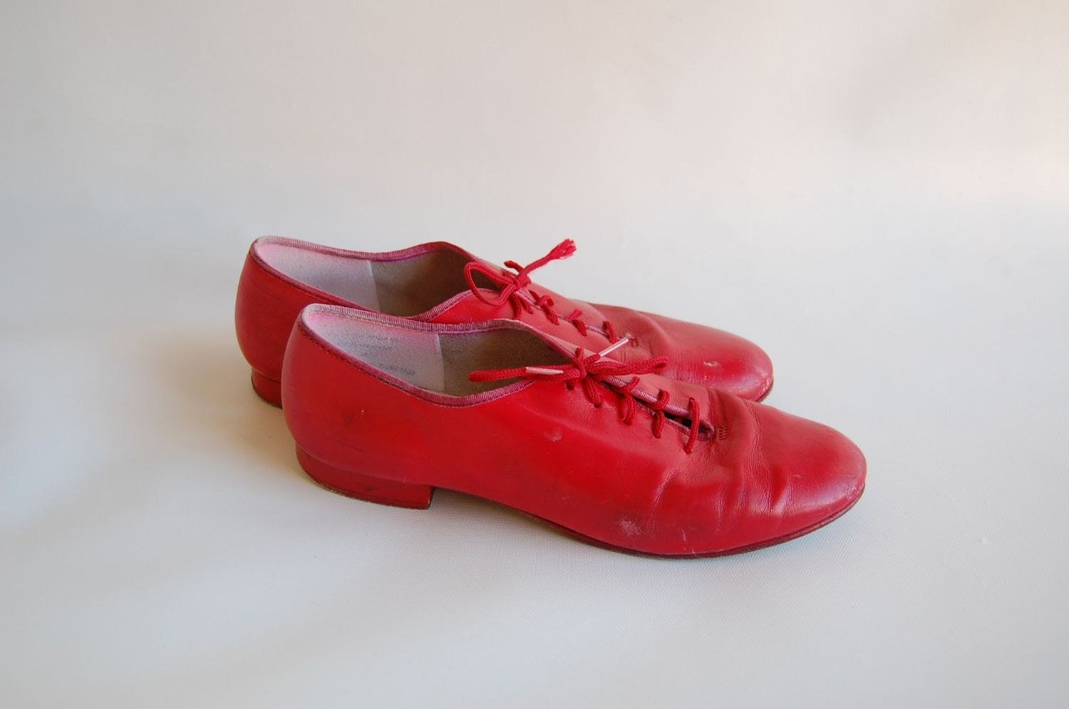 Lipstick Red Jazz OXFORD Shoes 7