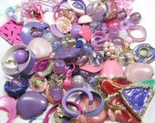 Year End Blowout - Half Price - Leftover Loot - Pink and Purples