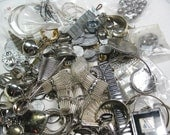 Year End Blowout - HALF PRICE - Destash - Leftover Loot - Mostly Silver Colored Metal