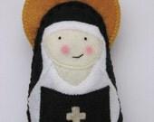 Saint Mother Theodore Guerin...Felt Softie