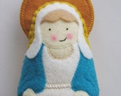 Our Lady of Grace Felt Saint Softie