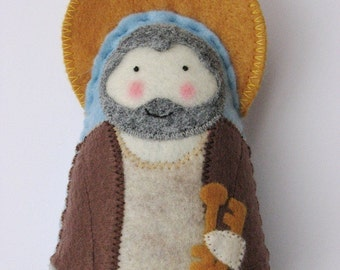 Saint Peter...Felt Softie
