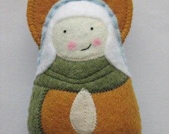 Saint Elizabeth Felt Saint Softie