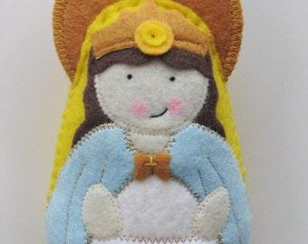 Our Lady of Knock Felt Saint Softie
