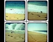 Photopia Beach Bliss Ceramic Coaster Set
