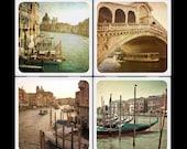 slcook52  Vintage Venice Set Ceramic Coasters