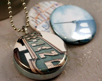 Portland Recycled Magnetic LOCKET SET By Polarity