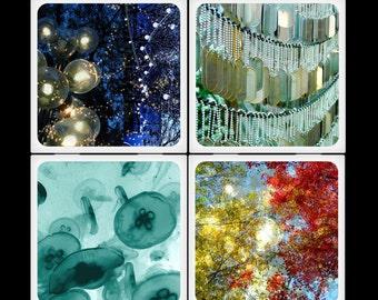 ara133photography Floating Set Ceramic Coasters