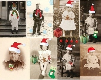 Christmas Collage Sheet5