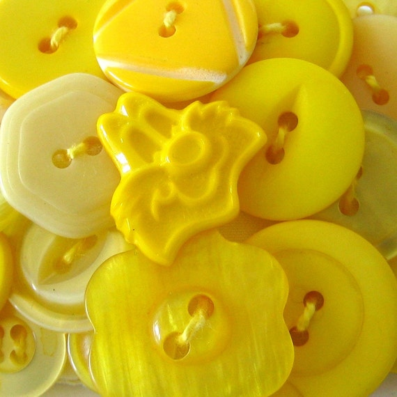 Barrette Yellow Cat Button Left Hand Friendly Hair Clip Gift for Left Handed Girl Sassy Accessory