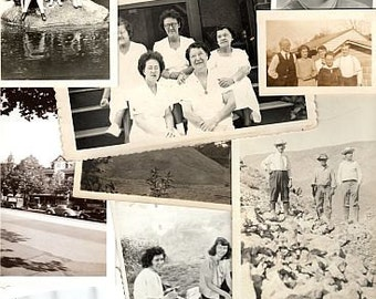 12 x Assorted Old Photographs
