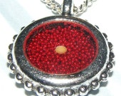 Mustard Seed Red Necklace