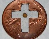 Mustard Seed Penny Cross (large cross)