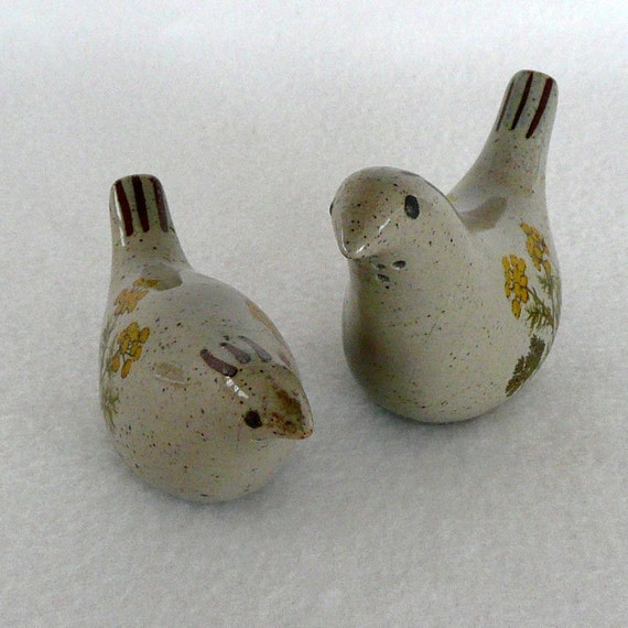Vintage Takahashi Bird Salt And Pepper Shakers By