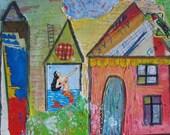 Sirens Village - Original Painting
