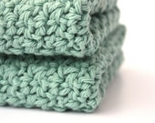 Kitchen Dishcloths Cotton Crochet Dishcloths Pick Your Color - Sweetbriers