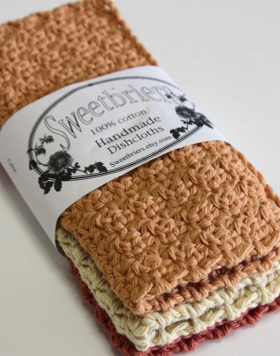 Crochet  Dishcloths Pick Your Colors