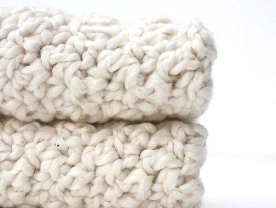 Organic Cotton Washcloths Crochet Discloths Cotton Kitchen Scrubbies