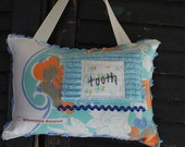 Tooth Fairy Pillow by Whoopsie Daisies on Etsy