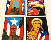 Puerto Rican Folk Art notecards - ArtByMia