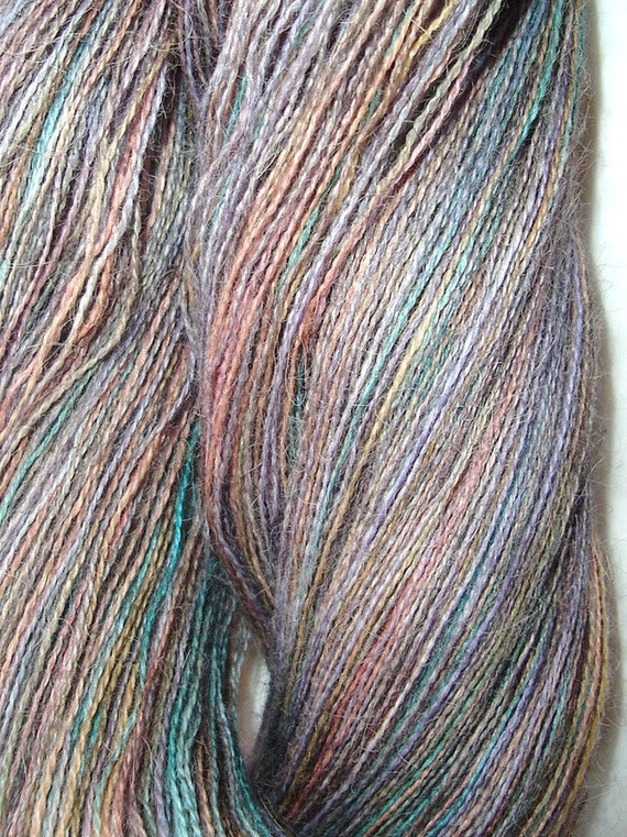 Quincampoix Handpainted Alpaca Lace Weight Yarn 1200 Yards