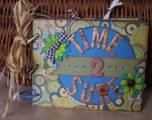 Time 2 Surf mini beach and vacation album