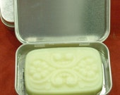 Blue Solid Lotion Bar