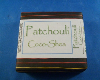 Patchouli Coco-Shea Vegan Soap