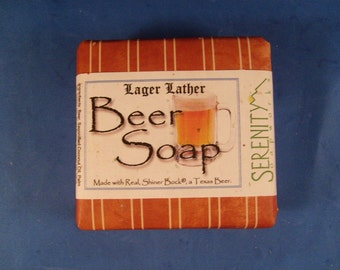Lager Lather Beer Soap