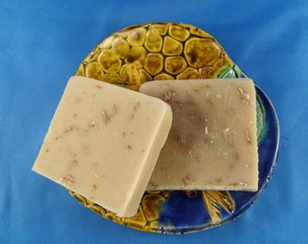 Almond and Oatmeal Goats Milk Soap
