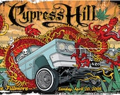 Cypress Hill 420 Low Rider Skeleton Dragon Poster - Etsy