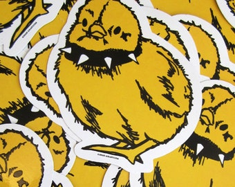Tough Chick Die Cut Vinyl Sticker - Etsy