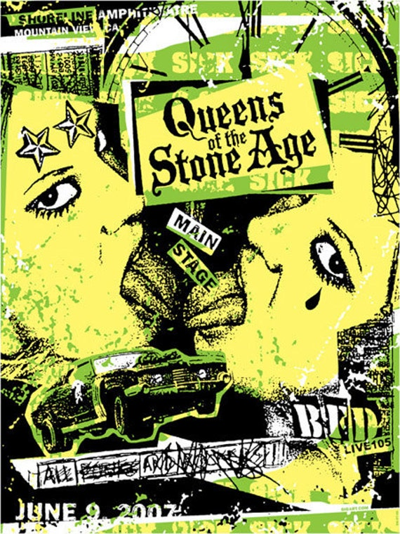 Qotsa queens of the stone age sexy girl on girl josh homme for Queens of the stone age tattoo