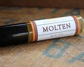 Molten Perfume Oil Coconut Hemp Roll On Chocolate Amber Orange