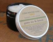 Green Tea and Lemon Skin Cream with Organic Aloe Juice hand body Lotion