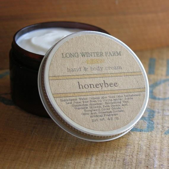 Honeybee Skin Cream with Organic Aloe Juice hand body Lotion