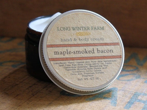 Maple-Smoked Bacon Skin Cream
