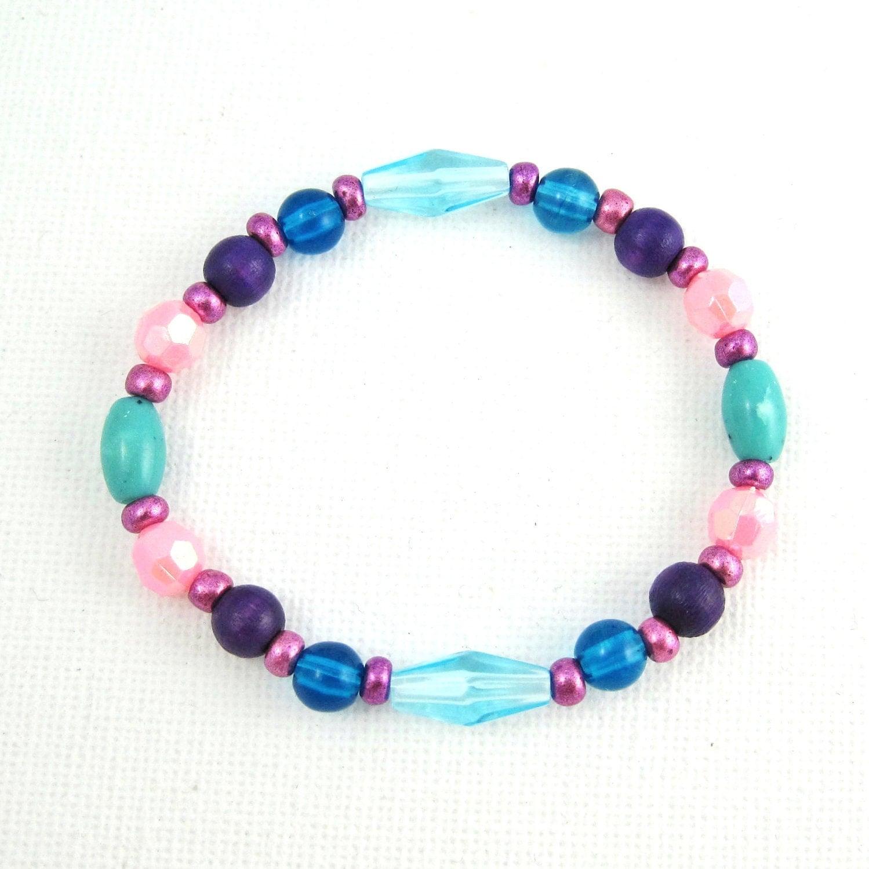 Childrens Charm Bracelet: Kids Jewelry Childrens Jewelry Bracelets Girls Colorful