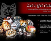Let's get Catty, Painting Realistic and Detailed Cats on Stone