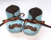 Moustache Mustache Baby Boy Booties Baby Bootees Shoe Booty Infant Newborn Boy Soft Shoes Baby First Shoes Boots Slippers Toddler Booties