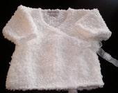 White Kimono Style Sweater by Never Felt Better